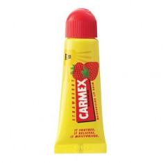 Carmex, Бальзам для губ с ароматом клубники, в тюбике