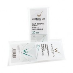Italwax, Полоска для депиляции 7х20 см, 20 шт., 1 упаковка White Line