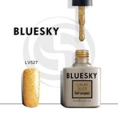 Bluesky, Гель-лак Luxury Silver №527