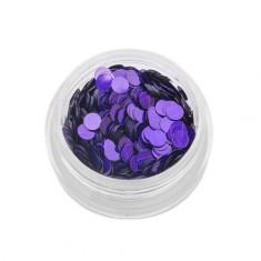 TNL, Пайетки для ногтей «Кошачий глаз» - фиолетовые №3 TNL Professional