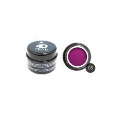 TNL, 4D-гель для дизайна ногтей №5, фуксия TNL Professional