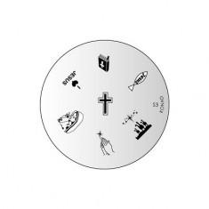 Konad, диск для стемпинга S3