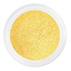 Patrisa nail, Пыльца для втирки №2, желтое золото, шиммер