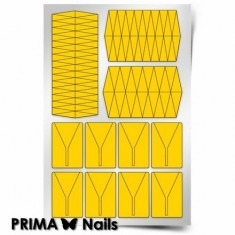 Prima Nails, Трафареты «Клинки»