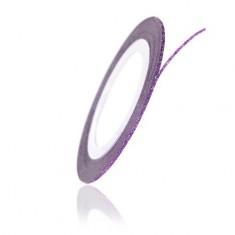 TNL, Нить на клеевой основе перламутровая, фиолетовая TNL Professional