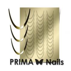 Prima Nails, Металлизированные наклейки CL-001, золото