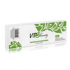 Igrobeauty, Бумага в полосках для депиляции, белая, 100 шт.