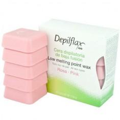 Depilflax воск горячий в дисках розовый 0,5кг