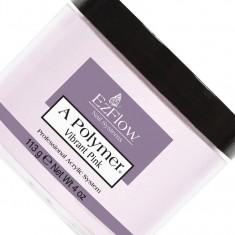 Ezflow акриловая насыщенная ярко-розовая пудра для френчей vibrant pink acrylik powder 113г