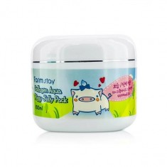 увлажняющая маска-желе со свиным коллагеном farmstay collagen aqua piggy jelly pack