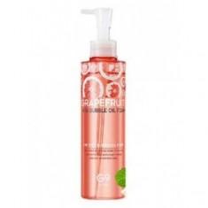 пенка для умывания с экстрактом грейпфрута berrisom g9 skin grapefruit vita bubble oil foam
