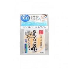 крем – гель увлажняющий и подтягивающий с ретинолом и изофлавонами сои sana wrinkle gel cream