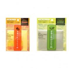 салфетки для снятия жирного блеска (с ароматом ) ishihara oil off paper