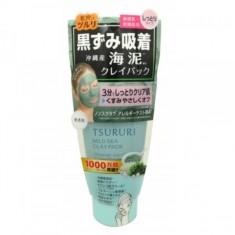 крем - маска для лица с глиной и морскими водорослями bcl tsururi mineral clay pack