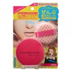 пудра компактная для лица spf50 sana spf50 covercom powder