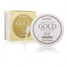 """патчи гидрогелевые с золотом и egf """"премиум"""" petitfee gold & egf eye patch premium"""