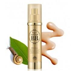бб крем с экстрактом улитки и золотом lioele super gold snail bb spf50
