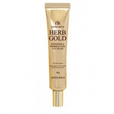 крем для век омолаживающий deoproce estheroce herb gold whitening & wrinkle care eye cream