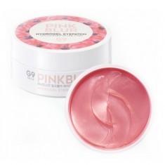 патчи для глаз гидрогелевые berrisom g9 pink blur hydrogel eyepatch