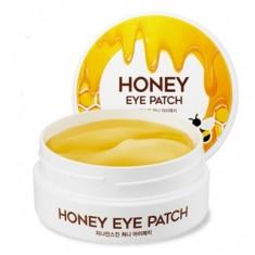 патчи для глаз гидрогелевые с медом berrisom g9 skin honey eye patch
