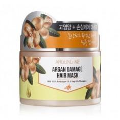 маска для поврежденных волос welcos around me argan damage hair mask