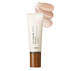 сс крем the saem eco soul tone up cc spf30 pa++