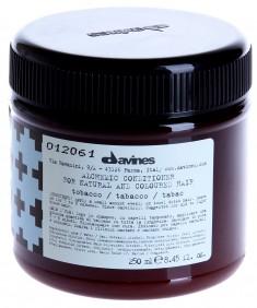 DAVINES SPA Кондиционер оттеночный для натуральных и окрашенных волос Алхимик, табак / ALCHEMIC 250 мл