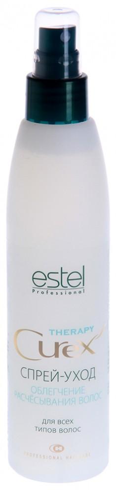 ESTEL PROFESSIONAL Спрей-уход для облегчения расчесывания волос / Curex Therapy 200 мл