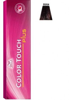 WELLA PROFESSIONALS 55/04 краска для волос, бренди / Color Touch Plus 60 мл