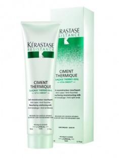 KERASTASE Термо-уход перед укладкой для всех типов поврежденных волос Цемент Термик / РЕЗИСТАНС 150 мл