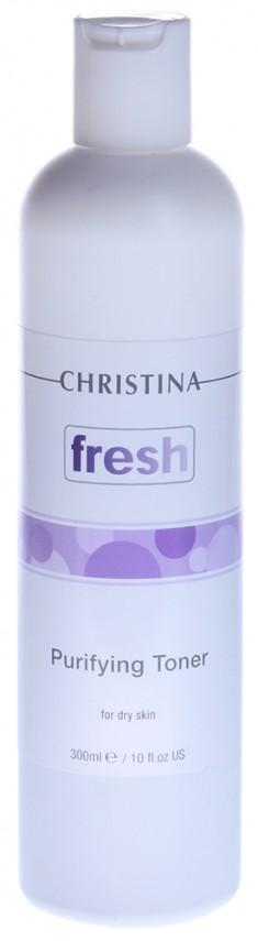 CHRISTINA Тоник очищающий с лавандой для сухой кожи / Purifying Toner for Dry Skin with Lavender 300 мл