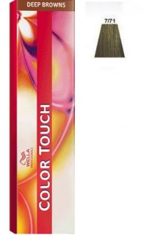 WELLA PROFESSIONALS 7/71 краска для волос, янтарная куница / Color Touch 60 мл
