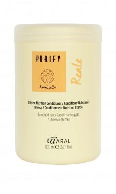 KAARAL Кондиционер восстанавливающий для поврежденных волос / Reale Intense Conditioner PURIFY 1000 мл