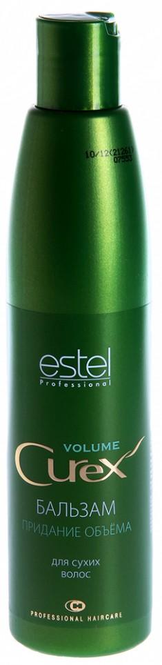 ESTEL PROFESSIONAL Бальзам для придания объема для сухих и поврежденных волос / Curex Volume 250 мл