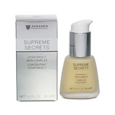 JANSSEN Концентрат регенерирующий с витамином С / Vitaforce C Skin Complex (Supreme Secrets) 30 мл