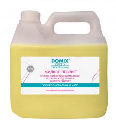 DOMIX GREEN PROFESSIONAL Средство для ускоренной подготовки к маникюру и педикюр Жидкое лезвие / DGP 3000 мл