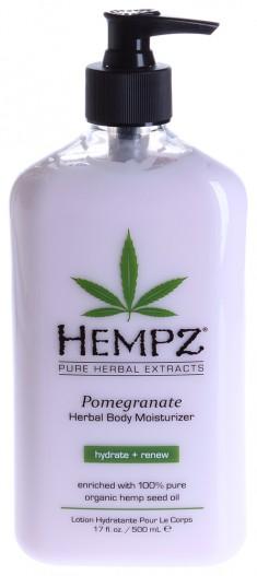 HEMPZ Молочко увлажняющее для тела, гранат / Pomegranate Herbal Body Moistyrizer 500 мл