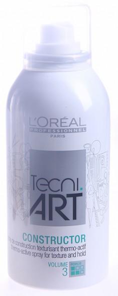 L'OREAL PROFESSIONNEL Спрей моделирующий для фена Хот Стайл Конструктор 3 / TECNI.ART 150 мл LOREAL PROFESSIONNEL