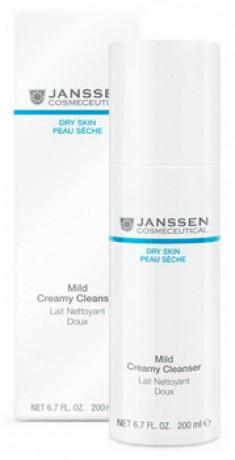 JANSSEN Эмульсия очищающая нежная / Mild Creamy Cleanser DRY SKIN 200 мл