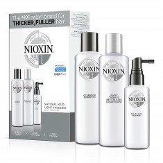 NIOXIN Набор XXL Система 1 (шампунь очищающий 300 мл, кондиционер увлажняющий 300 мл, маска питательная 100 мл)