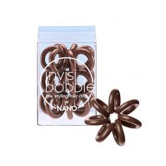INVISIBOBBLE Резинка-браслет для волос / NANO Pretzel Brown