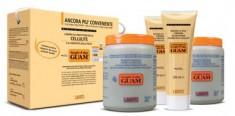 GUAM Маска антицеллюлитная 2 кг + гель-лифтинг укрепляющий 500 мл / FANGHI D`ALGA