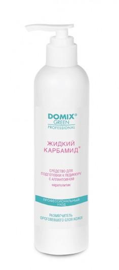 DOMIX GREEN PROFESSIONAL Средство-кератолитик с аллантоином для подготовки к педикюру Жидкий карбамид / DGP 250 мл