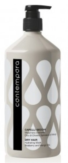 BAREX Маска увлажняющая с маслом облепихи и маслом манго / СОNTEMPORA 1000 мл