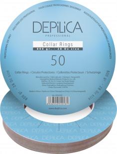 DEPILICA PROFESSIONAL Кольца защитные для нагревателя / Collar Rings 800 g size 50 шт