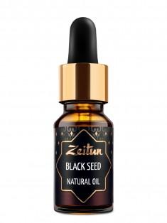 Натуральное растительное масло черного тмина, 10 мл