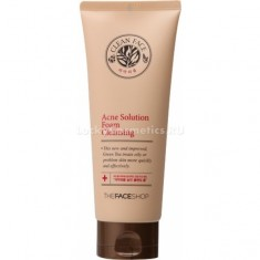 The Face Shop Clean Face Acne Solution Foam Cleansing ml