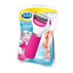 SCHOLL Электрическая роликовая пилка (розовый цвет) 1 шт.