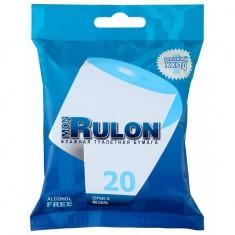 Mon Rulon Влажная туалетная бумага 20шт