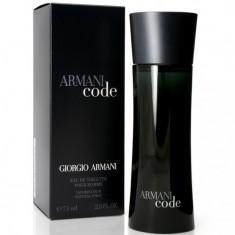 GIORGIO ARMANI CODE вода туалетная мужская 75 ml